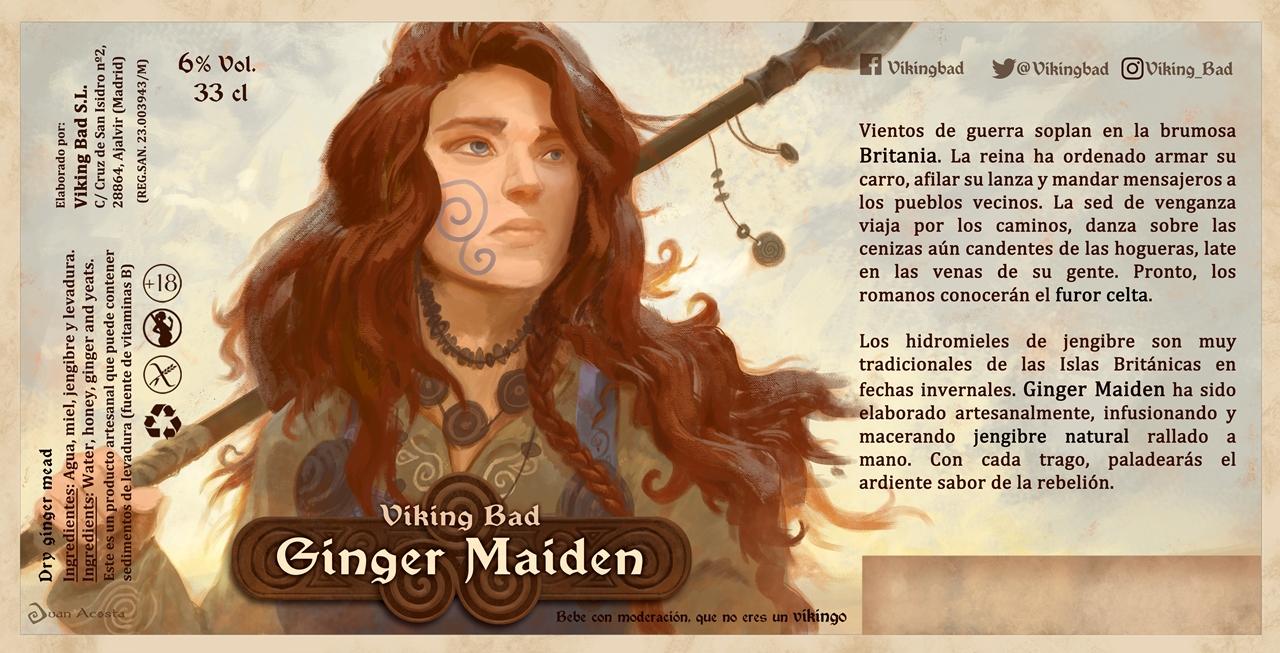 Ginger Maiden: Presentamos el lote 2020