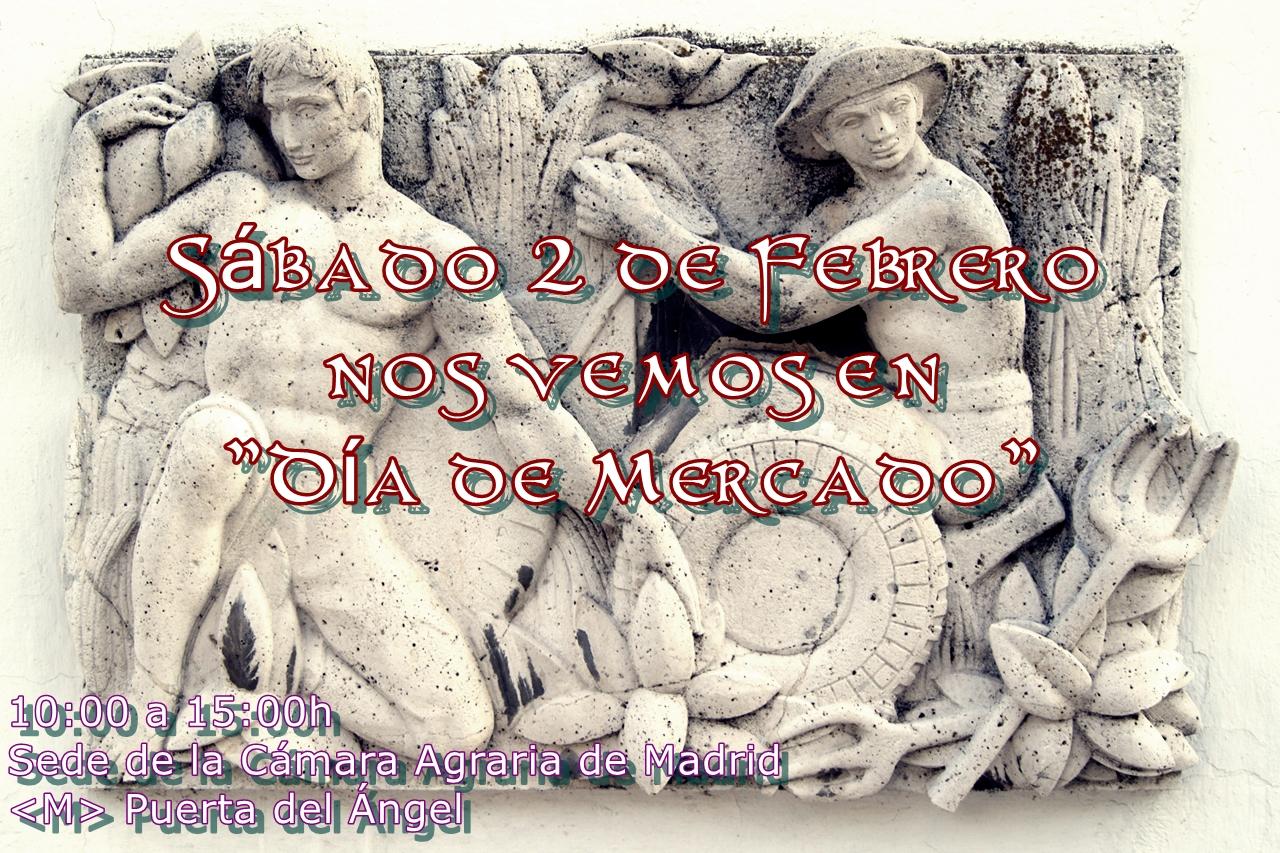 El sábado 2 de febrero nos vemos en Puerta del Ángel