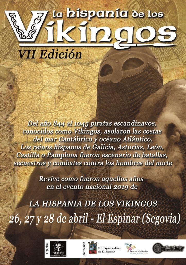Cartel de La Hispania de los Vikingos 2019