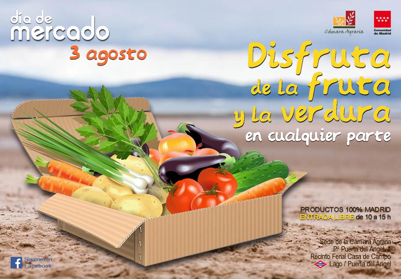 """El próximo 3 de agosto nos vemos en """"Día de Mercado"""""""