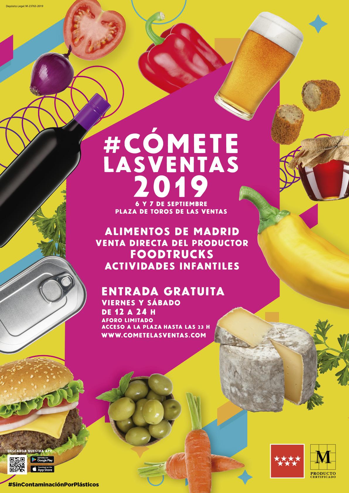 """Estaremos en el """"Cómete Las Ventas"""" 2019"""